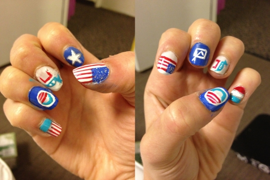 election nail art final